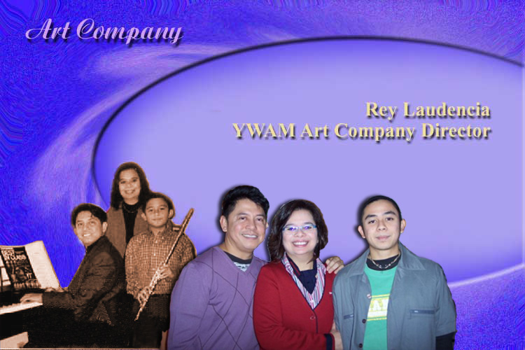 ART Company, Almond Rod's Theatre Company,        we welcome you to contact us. I am Rey Laudencia, YWAM Art Company Director.